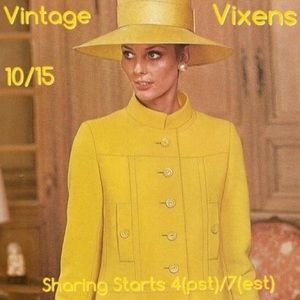 Jewelry - THURSDAY 10/15 Vintage Vixens Sign Up Sheet